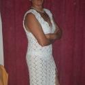 Horgolt esküvői ruha, Ruha, divat, cipő, Esküvő, Női ruha, Menyasszonyi ruha, Horgolás, 100% pamut fonalból készítettem ezt a romantikus modellt. Mintája által rugalmasan követi a viselője..., Meska