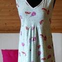 Tulipános női hálóing, Ruha, divat, cipő, Női ruha, Fehérnemű, Varrás, Kényelmes, és egyúttal nagyon nőies és egyedi hálóing, ami puha, rugalmas pamutból készült.   anyag..., Meska