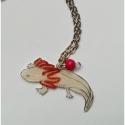 Axolotl nyaklánc, Ékszer, óra, Nyaklánc, Medál, Először egy kis ismertető:  - Az axolotl elnevezés a nahuatl (azték) nyelvből származik, az egyik le..., Meska