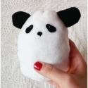 Panda Plüss, Játék, Baba-mama-gyerek, Plüssállat, rongyjáték, Polárból készült pici panda. Lenyelhető része nincs, azonban gyömöszölni való teste igen. ( : Nem cs..., Meska