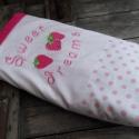 EPRES álom - pink pöttyös babatakaró, Baba-mama-gyerek, Baba-mama kellék, Gyerekszoba, Falvédő, takaró, Ágynemű, Takaró, ágytakaró, Varrás, Pink pöttyös babatakarót készítettünk kisbabád számára. A babatakaró egyik oldala pihe-puha wellsoft..., Meska