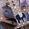 Farmer elefánt ágynemű - takaró+párna, Baba-mama-gyerek, Gyerekszoba, Falvédő, takaró, Festett tárgyak, Mindenmás, Egyedi, különféle vidám, színes textilekből készített, applikációkkal ellátott baba- gyerektakaró é..., Meska