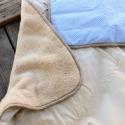 NYALÓKÁS ágynemű - beige-barna - takaró+párna, Baba-mama-gyerek, Gyerekszoba, Falvédő, takaró, Festett tárgyak, Mindenmás, Egyedi, különféle vidám, színes textilekből készített, applikációkkal ellátott baba- gyerektakaró é..., Meska