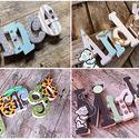 Egyedi név felirat egyben - 5  betűs név esetén (NoaNoa) - Meska.hu