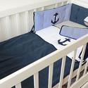 Babatakaró, ágynemű - egyedi anyaggal, Baba-mama-gyerek, Otthon, lakberendezés, Gyerekszoba, Falvédő, takaró, Varrás, Egyedi  babatakarót, ágyneműt készítünk megrendelésre.  Ez a takaró, ágynemű megrendelésre készült,..., Meska