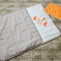 Egyedi PILLANGÓS - applikált ágynemű - takaró+párna, Baba-mama-gyerek, Gyerekszoba, Falvédő, takaró, Festett tárgyak, Mindenmás, Finom anyagból készült párnát készítettünk, fiús mintájú applikációval.  Huzata, levehető, mosógépb..., Meska