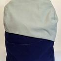 LaMoyenneTortue - zsákvászon hátizsák, Táska, Hátizsák, , Meska