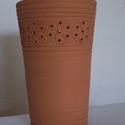 Fakanáltartó (A), Konyhafelszerelés, Kerámia, Mázatlan, kézi korongon készült, 980 °C fokon égetett fakanáltartó. Praktikus, könnyen tisztítható,..., Meska