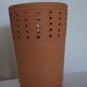Fakanáltartó (E), Konyhafelszerelés, Kerámia, Mázatlan, kézi korongon készült, 980 °C fokon égetett fakanáltartó. Praktikus, könnyen tisztítható,..., Meska