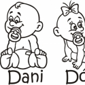 Autómatrica - Baby on board - Baba az autóban, Dekoráció, Férfiaknak, Kép, Fotó, grafika, rajz, illusztráció, Mindenmás, Termékleírás:   Fiú vagy lány mintás autómatrica. (Az ár 1 db-ra vonatkozik) Autó hátsó szélvédőjér..., Meska