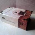 Süteményeskönyv..., Dekoráció, Konyhafelszerelés, Receptfüzet, Decoupage, szalvétatechnika, Festett tárgyak, A legfinomabb sütik... (amit a mama még kézzel jegyzett le!)... receptjének gyűjtőhelye... :) Méret..., Meska