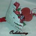 Egyedi és különleges selyem csokor - ballagásra,esküvőre is!, Esküvő, Dekoráció, Esküvői csokor, Dísz, Virágkötés, A csokrok kézzel készültek egyedi elképzelések alapján. Keretre virágkötéssel és ragasztással kerül..., Meska
