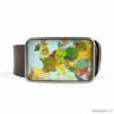 Európa térkép övcsat, Ruha, divat, cipő, Férfiaknak, Öv, Ékszerkészítés, Mindenmás, Ha SÜRGŐS, kérdezz vásárlás előtt, lehet, hogy van belőle kész darabom is. ________________________..., Meska