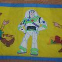 Gyönyörű falvédő , Baba-mama-gyerek, Gyerekszoba, Falvédő, takaró, Festészet, Népszerű mesehős mintával, tartós gyerekbarát textilfestéssel készült pamut falvédő   toy storys 2 ..., Meska