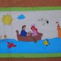 ariel hercegnő falvédő , Baba-mama-gyerek, Gyerekszoba, Falvédő, takaró, Festészet, Népszerű mesehős mintával, tartós gyerekbarát textilfestéssel készült pamut falvédő  2 méteres, 260..., Meska