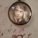 Ady emlékére, Ékszer, óra, Medál, Nyaklánc, Vintage stílusú technikával készült antikolt bronz nyaklánc (kérésre fülbevalóval, gyűrű..., Meska
