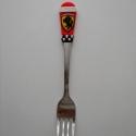 Ferrari villa, Konyhafelszerelés, Gyurma, Süthető gyurmából kézzel készített Ferrari logóval díszített villa. A villa minőségi rozsdamentes a..., Meska