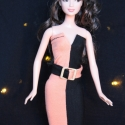 Twilight Barbie ruha, Baba-mama-gyerek, Játék, Ruha, divat, cipő, Baba, babaház, Varrás, Twilight rajongóknak!:) Bella Swan általam megálmodott ruhája egyszerre szimbolizálja a nappal és a..., Meska