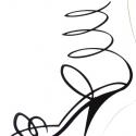 Falmatrica ( nöi cipő ), Dekoráció, Dísz, Kép, Falmatrica, Fotó, grafika, rajz, illusztráció, Nőcis matrica. Falra vagy más ,használati tárgyra ragasztható matrica. Bárhová, ahová csak szeret..., Meska