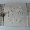 Szerelemfa - családfa fényképalbum-vendégkönyv-napló