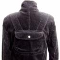 Vastag kord sportos kabát, Ruha, divat, cipő, Női ruha, Kabát, Varrás, Egyedi tervezésű, sok zsebes, vastag kord kabát. Bélelt, nagyon meleg, kiváló a hideg téli napokra...., Meska