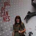Fekete-arany szegecses csipkeruha, Ruha, divat, cipő, Női ruha, Estélyi ruha, Ruha, Varrás, A 2013 Cannes filmfesztiválra készült egy angol színésznő számára. Egyedi készítésű és csak ez az e..., Meska