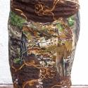 Barna, erdőmintás, őszi hangulatú szoknya, Ruha, divat, cipő, Női ruha, Szoknya, Varrás, Barna, erdőmintás szoknya őszi színekben és hangulatban. Különleges szoknya különleges alkalmakra. ..., Meska