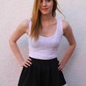 Fekete-fehér szoknya, Ruha, divat, cipő, Női ruha, Szoknya, Varrás, Fekete-fehér szoknya. Elegáns, de akár a mindennapokra is tökéletes viselet. 3-4nap alatt készítem ..., Meska