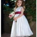 Koszorúslányka ruha, Ruha, divat, cipő, Gyerekruha, Esküvői ruha, Varrás, Koszorúslányka ruha 80-158-as méretig, készítem bármilyen színben. , Meska
