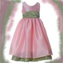 Koszorúslányka ruha, Esküvő, Ruha, divat, cipő, Gyerekruha, Gyerek (4-10 év), Varrás, Koszorúslányka ruha 74-146-os méretig bármilyen színben elkészítem., Meska