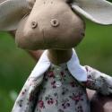 Boci textil figura , Játék, Plüssállat, rongyjáték, Játékfigura, Varrás, Egyedi, Country stílusú textil figura! Lady Gigi, a farm sztárja várja szerető, gondoskodó gazdiját..., Meska