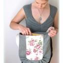 Akció! 4100 Ft Rózsás táska Szürke Rózsaszín Válltáska, Baba-mama-gyerek, Táska, Válltáska, oldaltáska, Tarisznya, Varrás, Akció! 4500 helyett 4100Ft. Szürke (galambszürke) rózsaszín színhatású, rózsás táskát készítettem. ..., Meska