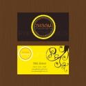 Sissy   digitális, kétoldalas névjegykártya design (pilegraphics) - Meska.hu