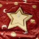 Karácsonyfatalp - fenyőfatartó (fából), Dekoráció, Otthon, lakberendezés, Mindenmás, Karácsonyi, adventi apróságok, Famegmunkálás, Mindenmás, Csillag alakú fenyőfatalp,különleges,praktikus,elegáns,szép,tartós,stabil darab.  Különleges szépsé..., Meska