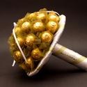 Cherry Quenn Konyakmeggy csokor, Dekoráció, Virágkötés, A csokor 30 db konyakmeggy golyóból áll. , Meska