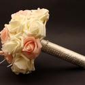 Dobócsokrok, Esküvő, Esküvői csokor, Virágkötés, Ezek a dobócsokrok korábbi megrendelésekre készültek, természetesen minden színárnyalatban és variá..., Meska
