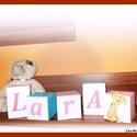 Babakocka névvel, Baba-mama-gyerek, Gyerekszoba, Baba falikép, Mindenmás, A kockák 7*7 cm kemény dekor habból készülnek. Az ár 1 db kockára érvényes. Színvilág választható. ..., Meska