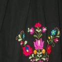 Tavaszi matyó virágos női vászon szoknya , Ruha, divat, cipő, Magyar motívumokkal, Női ruha, Szoknya, Varrás, Hímzés, Könnyed pamutvászon anyagból készült elegáns, csípőfazonú szoknya.   Alját kézzel hímzett  matyó vir..., Meska