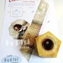 Hamupipőke dobozka - papírjáték, Játék, Képzőművészet , Baba-mama-gyerek, Készségfejlesztő játék, Papírművészet, Baba-és bábkészítés, Az instrukció követésével egy sokszögű dobozka készíthető el. Kivágva, meghajtogatva és összeragaszt..., Meska