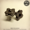 recyclock  CFL-008  mandzsetta újrahasznosított kerékpár láncból, Ékszer, óra, Férfiaknak, Ruha, divat, cipő, Újrahasznosított alapanyagból készült termékek, Ötvös, Kerékpár láncból készült mandzsetta, egyedi kerékpárbelsővel bélelt dobozban.     még több mandzset..., Meska