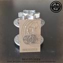 recyclock  ERR-016 bringás fülbevaló, Ékszer, óra, Ruha, divat, cipő, Fülbevaló, Újrahasznosított alapanyagból készült termékek, Ötvös, bringás fülbevaló  A fülbevaló átmérője 25mm akasztója nikkelmentes.  még több recyclock fülbevaló:..., Meska