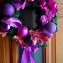 Karácsonyi kopogtató, ajtódísz, Dekoráció, Karácsonyi, adventi apróságok, Ünnepi dekoráció, Karácsonyi dekoráció, , Meska