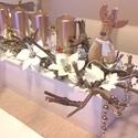 Adventi asztaldísz, Dekoráció, Karácsonyi, adventi apróságok, Ünnepi dekoráció, Karácsonyi dekoráció, , Meska