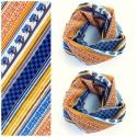 Marokkói szerelem......-Mintás Kendő, körsál, Ruha, divat, cipő, Kendő, sál, sapka, kesztyű, Kendő, Sál, Varrás, Nem számít, ha nem lapulnak a szekrényedben a legújabb designer cuccok, hiszen a leghétköznapibb ruh..., Meska