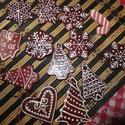karácsonyfadísz , Dekoráció, Karácsonyi, adventi apróságok, Ünnepi dekoráció, Karácsonyfadísz, Kerámia, Kerámia karácsonyfadíszek a készítőtől akár postán, akár személyes átvétellel, méret:kb. 4-6 cm, Meska