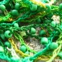 Zöldek, Ékszer, óra, Nyaklánc, Horgolás, Igazi nyári viselet ez a nyaklánc, nagyon könnyű, szinte észre sem veszed, és biztosan nem izzadsz m..., Meska