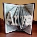 Könyvszobor Anya felirattal,Swarovski kristályokkal, Dekoráció, Otthon, lakberendezés, Dísz, , Meska