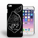 Iphone tok, Férfiaknak, Óra, ékszer, kiegészítő, Fotó, grafika, rajz, illusztráció, Citromos azaz citrom mintás Iphone tok Iphone 6-ra. Saját grafikámmal ellátott egyedi termék!, Meska