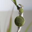 Zöld moha Bársony ékszerszett Őszi nyaklánc választható fülbevalóval, Ékszer, óra, Nyaklánc, Ékszerszett, Fülbevaló, Ékszerkészítés, Mindenmás, Bársonyból készült, nikkelmentes ékszerszett. Hétköznapokra és különleges alkalmakra is.  A szett t..., Meska
