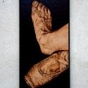 Romantikus balett kép, Otthon, lakberendezés, Mindenmás, Dekoráció, Falikép, Famegmunkálás, Mindenmás, Fába égetett,nagyon valósághű,kézzel készített termék. Mérete:14x28  Pirográf készülék használatáva..., Meska